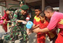 Anggota TNI AD, Penyuluhan Kesehatan kepada Siswa SD