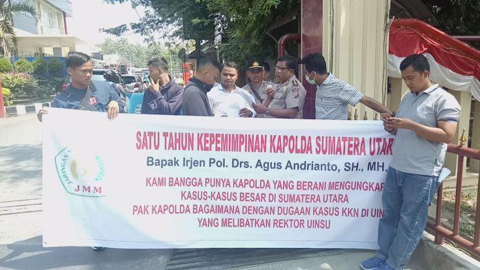 Satu Tahun Kepemimpinan Agus Andrianto, JMM Sumut Apresiasi Kinerja Kapoldasu