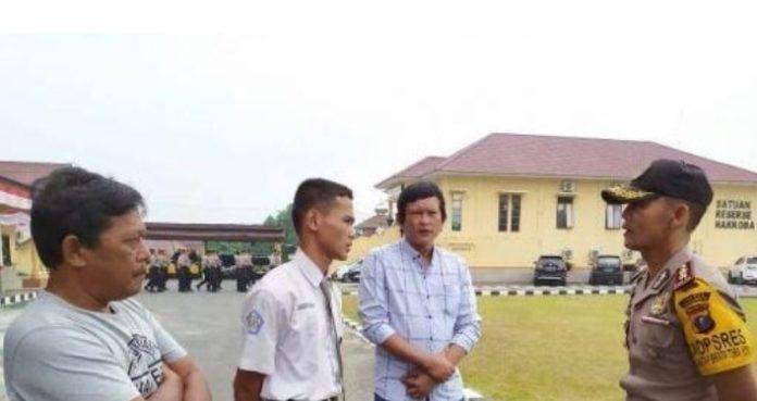 Derita Anak Yatim Gagal Paskibra, Diundang Kapolres