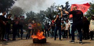 Demo Kapak, Terkait Korupsi BKN Mengendap di 9 Rekening