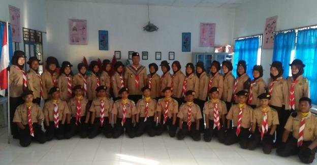 Pramuka Tanjung Tiram, Pengukuhan Pasukan Karangan Bunga Berjalan Lancar