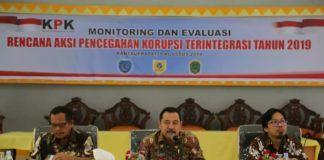 KPK Monitoring, Pencegahan Korupsi di Labuhanbatu
