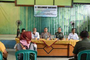 Cipta Kondisi PILKADES Serentak 2019, Kapolres Banjar Lakukan Kunjungan Kerja