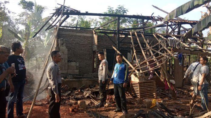 Kebakaran Kembali Terjadi, Rumah Warga di Ciamis Ludes
