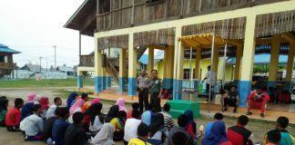 Danramil 05 Dan Kapos Subsektor Tanjung Tiram Apresiasi Anggota Paskibra
