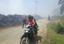 PKS PTPN II Sawit Hulu, Terkesan Tak Serius Atasi Pembakaran Tankos