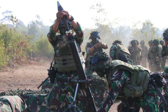 Latihan Kartika Yudha, TNI AD Pukul Mundur Pasukan Negara Agresor