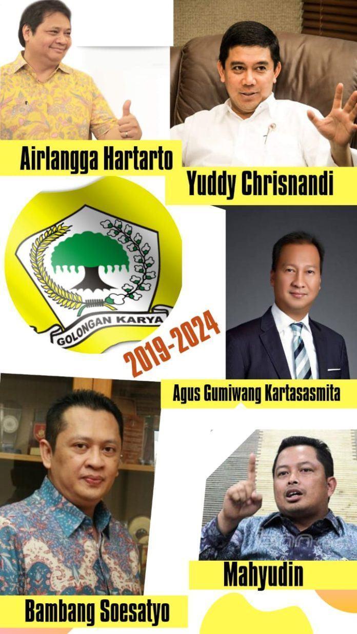 5 Nama Calon Kuat Kandidat Ketua Umum Partai Golkar Periode 2019- 2024