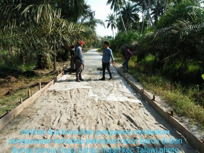 Konsultan Pengawas, Pekerjaan Rabat Beton Sesuai RAB Dan Gambar