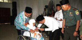 Jamaah Calon Haji Kloter 21, Plt Bupati Labuhanbatu Berangkatkan 53 Orang