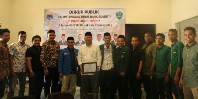 Diskusi Publik Himmah dan PMII : Gubsu Jangan Jadi Sampah Peradaban