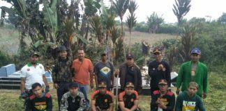 Ansor Karo, Bersihkan Makam Rayakan Kemerdekaan Indonesia