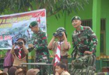 HUT RI di Lampung, Prajurit TNI Isi Materi Bela Negara