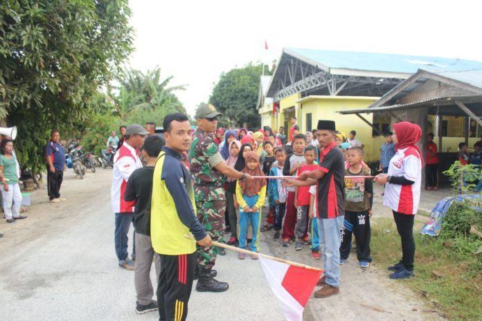 Jalan Santai Kuala Indah, FPPKIN Optimis Masyarakat Harus Bangkit