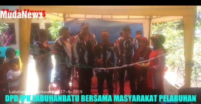 DPD IPK Labuhanabatu, Bersama Warga Lingkungan Pelabuhan Meriahkan Kemerdekaan