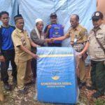 Dinas Sosial Pangandaran, Beri Bantuan Korban Kebakaran