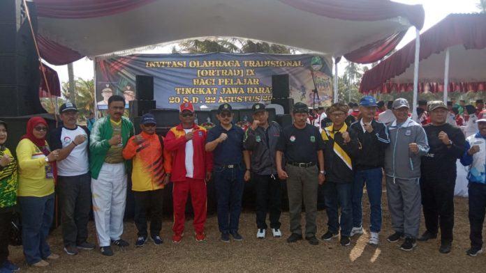Pemprov Jawa Barat, Gelar Pekan Olahraga Tradisional