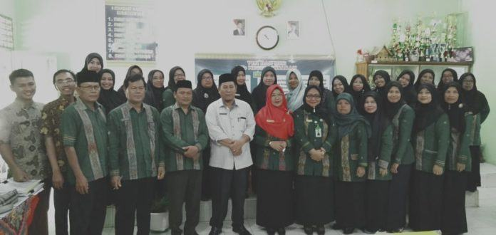Kepala MTs Negeri 2 Asahan, Dukung Karier Guru