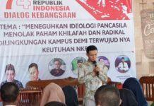 Dialog Kebangsaan FSM Sumut, Tolak Paham Radikal dan Khilafah di Kampus