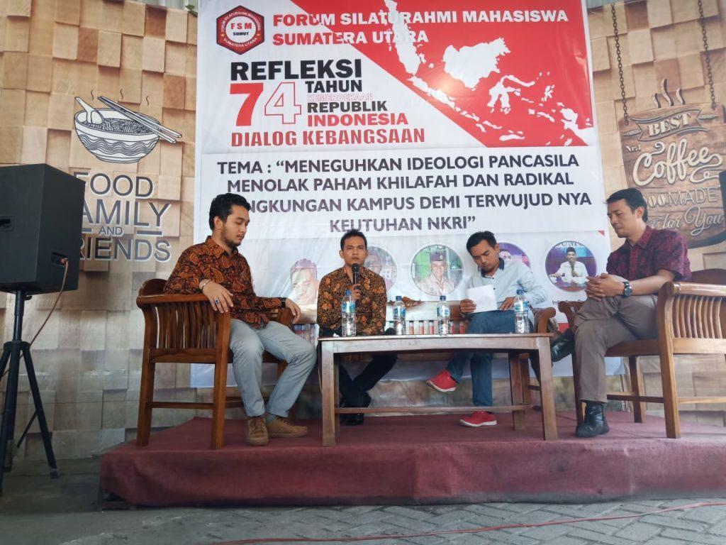 Dialog Kebangsaan, Radikalisme Diwaspadai dan Ini 5 Maklumat FSM Sumut