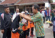 Masyarakat Desa Sidaharja, Sambut Siswi SD Peraih Juara Otrad