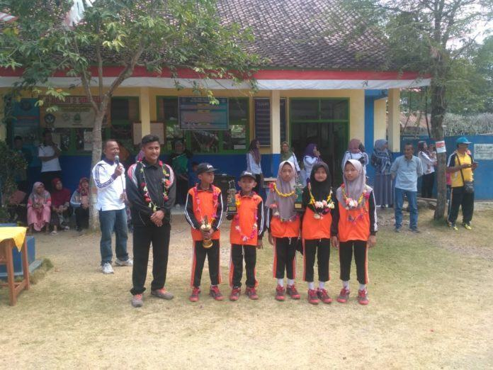 Lomba Olahraga Tradisional, SD Negeri 2 Sidaharja Tiga Kali Juara