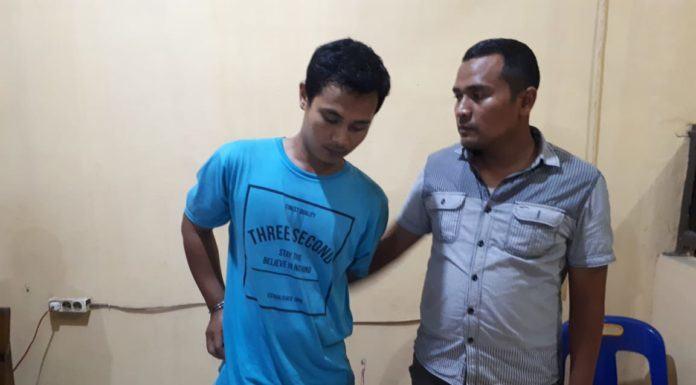 Unit Reskrim Polsek Bilah Hilir, Meringkus Pemilik Sabu