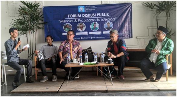 PP IMIKI, Gelar Diskusi Publik Bertemakan Milenial & Propaganda Ideologi