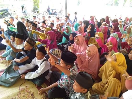 Lubuk Kertang, Siap Jadi Desa Literasi