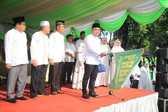 Plt Bupati Labuhanbatu, Lepas Pawai Ta'aruf Menyambut Tahun Baru Islam