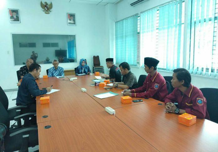Ungkap Korupsi di Labura, Mahasiswa Sambangi BPKP RI Sumut