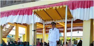 Camat Tanjung Tiram, Irup di Hari Kemerdekaan RI ke-74