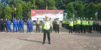 Polres Langkat, Apel Operasi Patuh Toba 2019 di Halaman Januraga