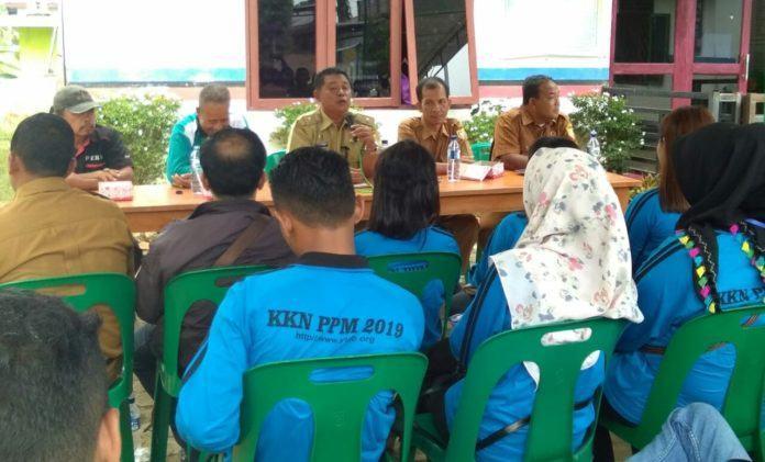 Kades Binanga Dua, Temu Rama dengan Mahasiswa KKN ULB