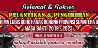 Erwin Lubis, Pimpin Hima Lubis Sumatera Utara Periode 2019-2023