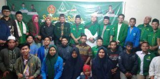 GP Ansor Dairi, Bersama Warga Nahdliyin Doakan KH Maimun Zubair