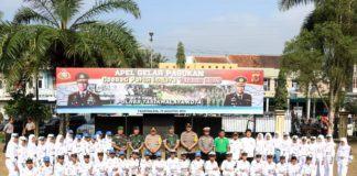 Operasi Patuh Lodaya Tasikmalaya, Danlanud Wiriadinata Ikut Apel