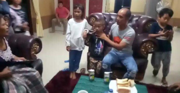 Dua Bocah Viral Labuhanbatu, Tiba di Kediaman Kapolres Labuhanbatu