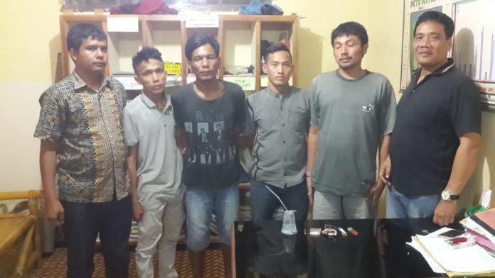 Narkoba Labuhanbatu, 4 Warga Panai Hilir Digerebek Polisi