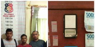 Menguasai Narkotika Jenis Sabu, Ricky Nyangkut di Polsek Padang Tualang