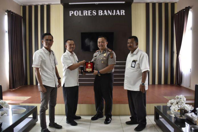 Kapolres Banjar, Silaturahmi Manajer PLN ULP