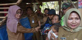 Dinas Sosial Ciamis, Serahkan Bantuan Rumah Tidak Layak Huni