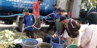 Tagana Pangandaran, Bantu Masyarakat Yang Kekurangan Air Bersih