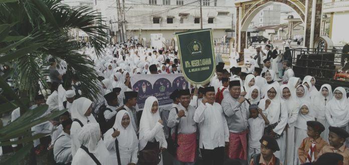 Acara Pawai Muharram, Ribuan Umat Islam Asahan Mengikutinya