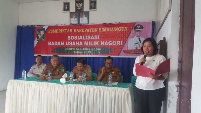 Pemkab Simalungun, Gelar Sosialisasi Badan Usaha Milik Nagori