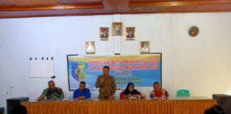 Pilkades Padang Genting, Bhabinkamtibmas Hadiri Pembentukan Panitia dan Pengawas