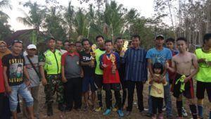 Kades Bantasari, Hadiri Tournament Gala Dusun Sarabaya Cup