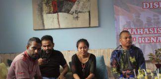 Mahasiswa Papua Baru Teriak Cinta NKRI, Keluarga di Papua Terancam