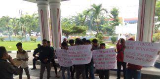 BPKP Sumut, Massa Aksi Tuding Bupati Labura Aktor Dugaan Korupsi DBH dan PBB