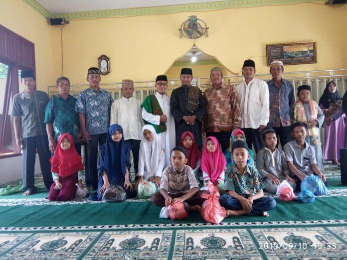 ISNU Kabupaten Langkat Syafari Muharram